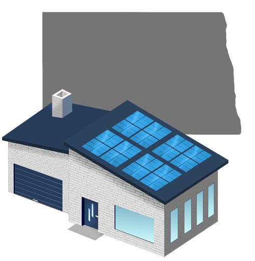Solar power in North Dakota
