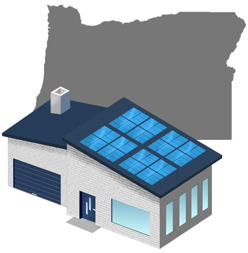 Solar power in Oregon