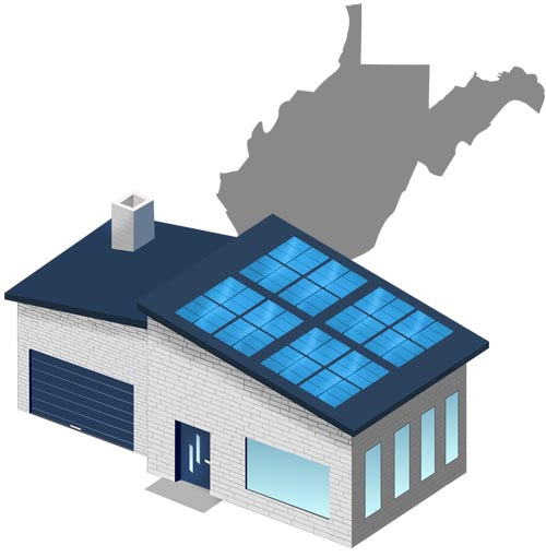 Solar power in West Virginia