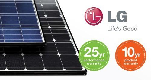 lg solar panel warranty information
