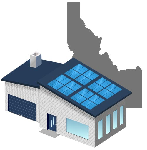 Solar power in Idaho