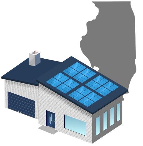 Solar power in Illinois