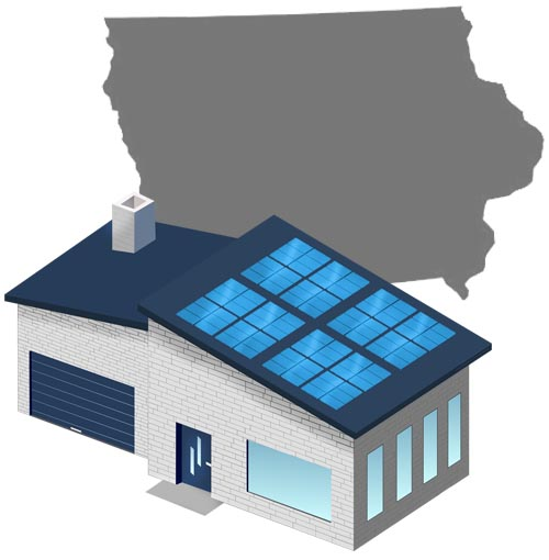 Solar power in Iowa