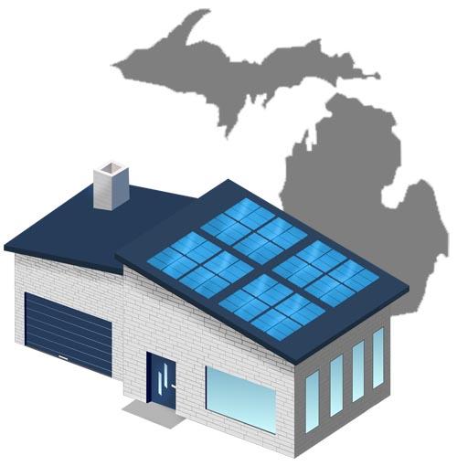 Solar power in Michigan