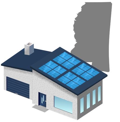 Solar power in Mississippi