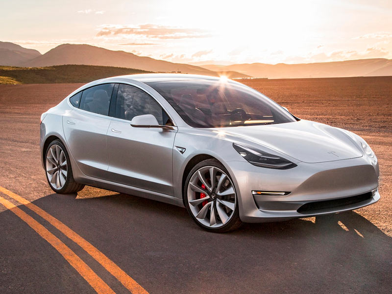 How long is the current wait for a Tesla Model 3?