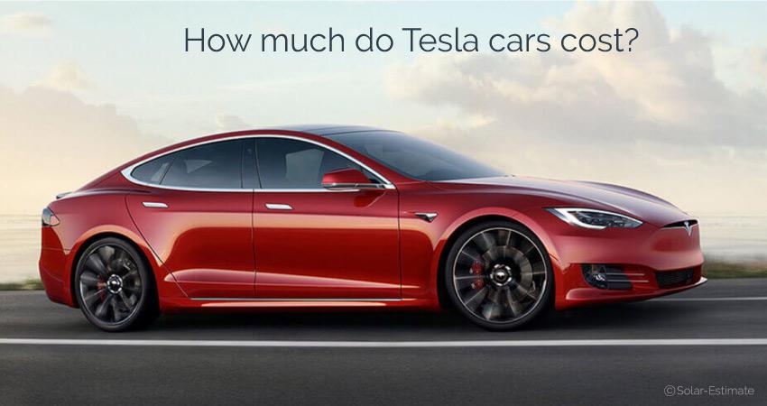 Combien coûtent les voitures Tesla?