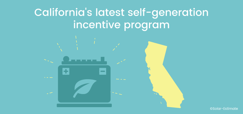 California's latest self-generation incentive program