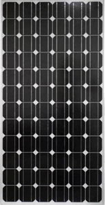 Monocrystalline solar modules