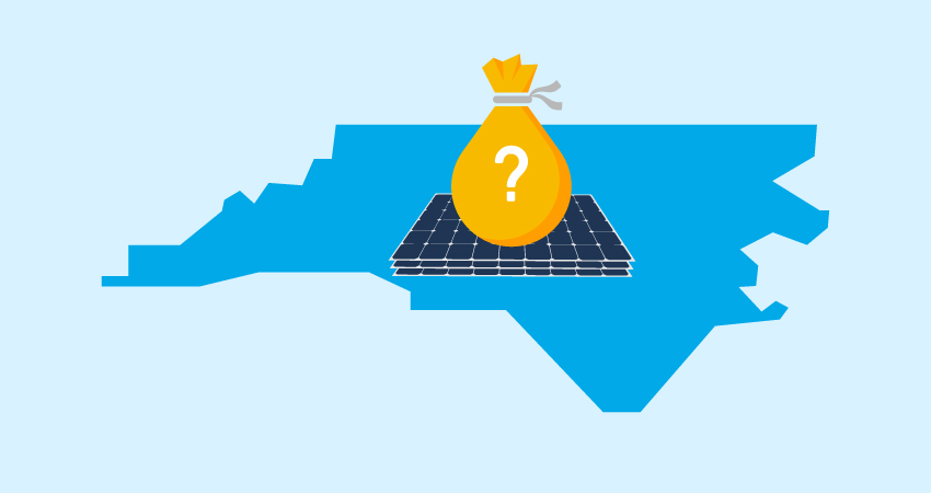How does the Duke Energy solar rebate in North Carolina work?