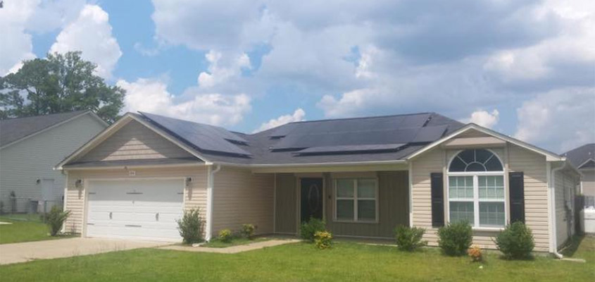 Renu Solar - North Carolina solar installation