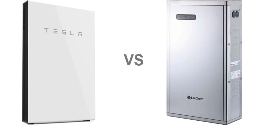 Tesla powerwall compared to LG Chem