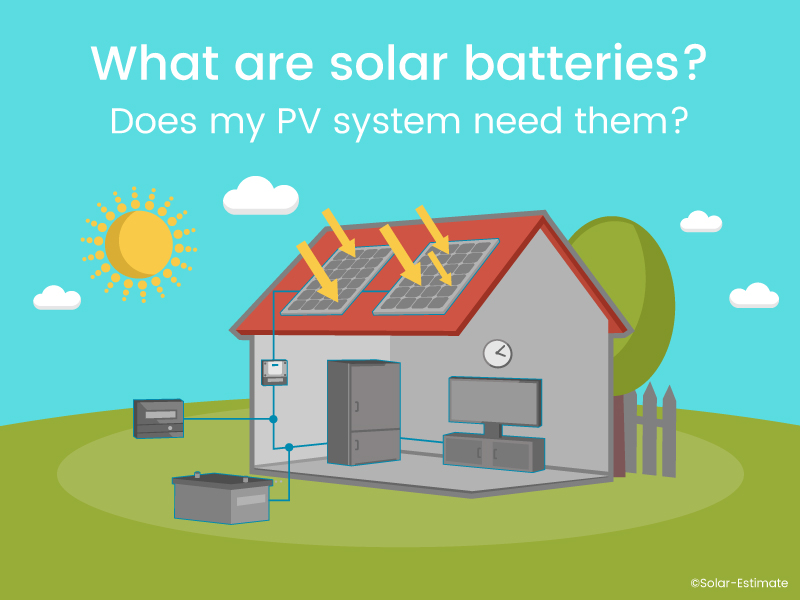 What are solar batteries? Does my PV system need them?