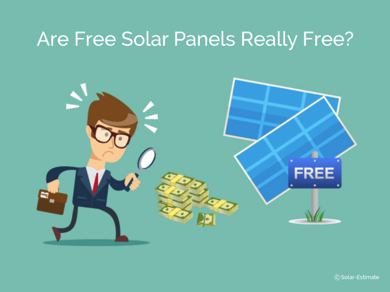 "Are ""free"" solar panels ever really free?...Why are more people opting for solar loans in 2019?"