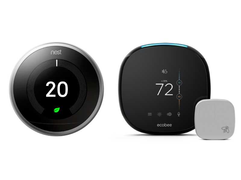 Ecobee vs Nest: We compare the top smart home thermostats