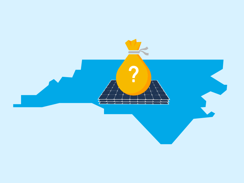 How does the new Duke Energy solar rebate in North Carolina work and how can I get it?