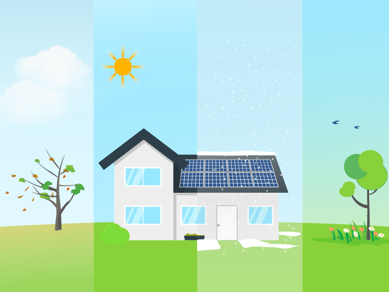 When should I clean my rooftop solar panels?