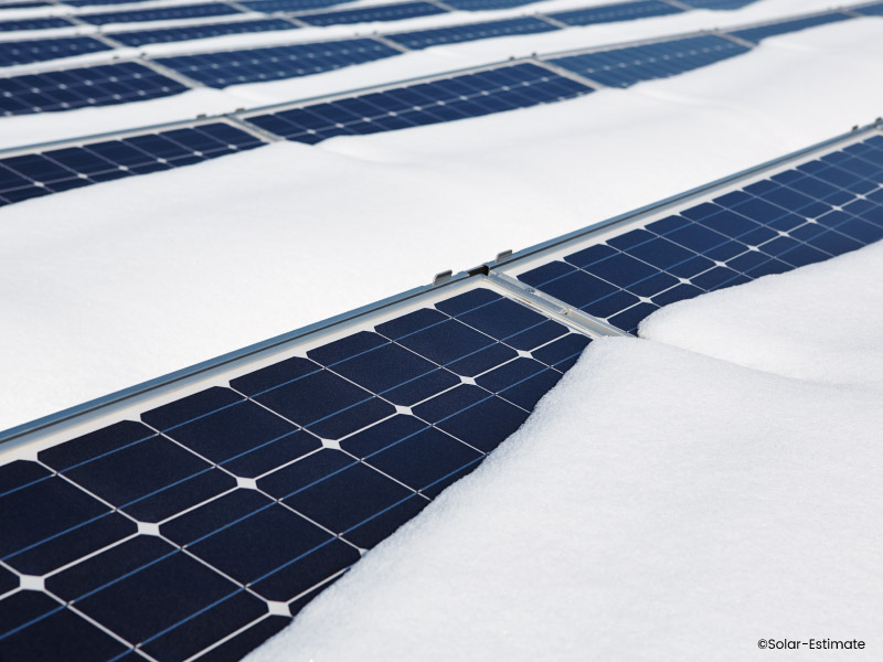 Will my solar panels work in cloudy or snowy weather?